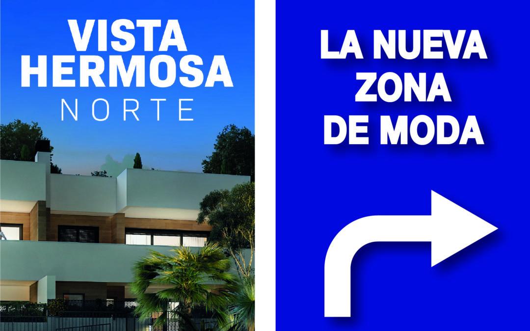 Sigue las banderolas de la avenida de Denia para acceder a Vistahermosa Norte